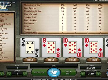 В картковій грі дві колоди